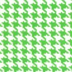 everyday houndstooth mint