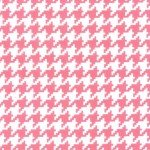 everyday houndstooth pink