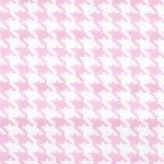 ROSE EVERYDAY HOUNDSTOOTH