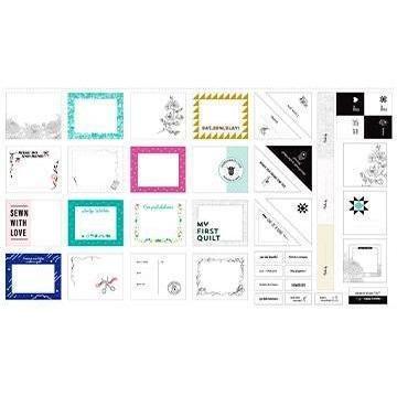 Figo Quilt Label Panel 23