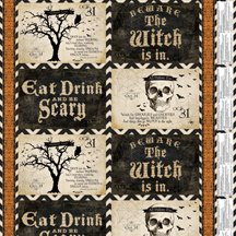 Something Wicked Placemat Panel