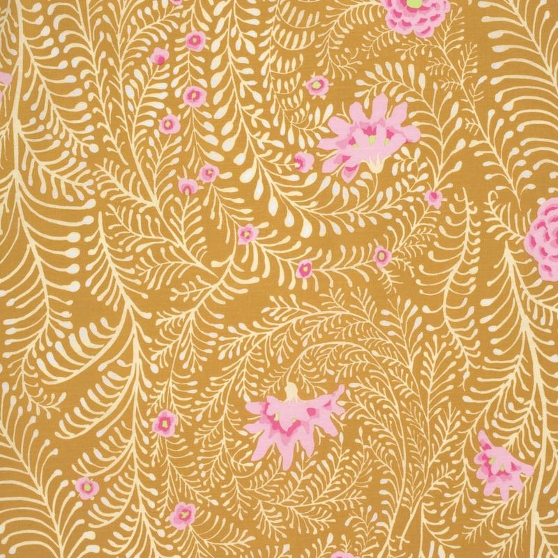 PWGP147.YELLO Ferns Yellow