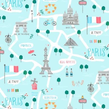 Parisienne Capri Le Map Stella-917