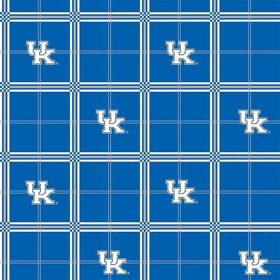 Kentucky Plaid Flannel  #KY--023