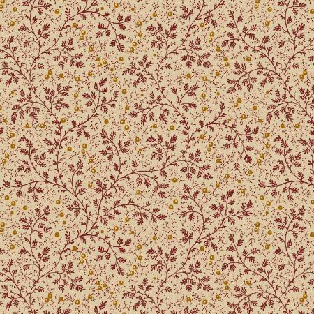 108 wide quilt back petite floral red