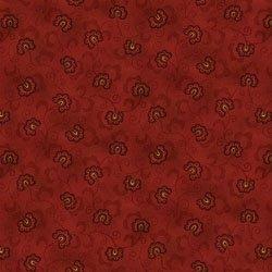 Idaho Prairie 1908 88 Stylized Red