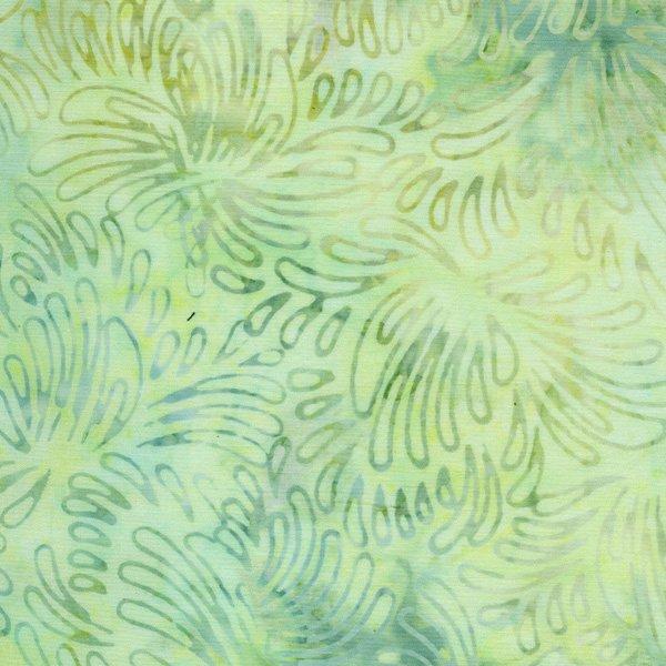 Malam VI Jinny Beyer Petals mint batik 3626 002