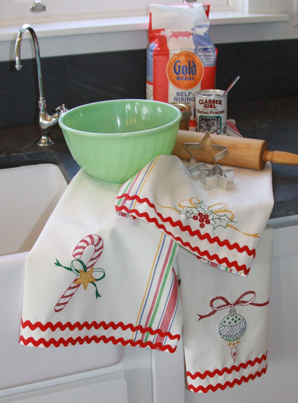 Merry Merry dish towels