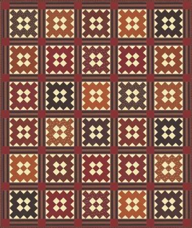 Bramblewood Quilt Pattern