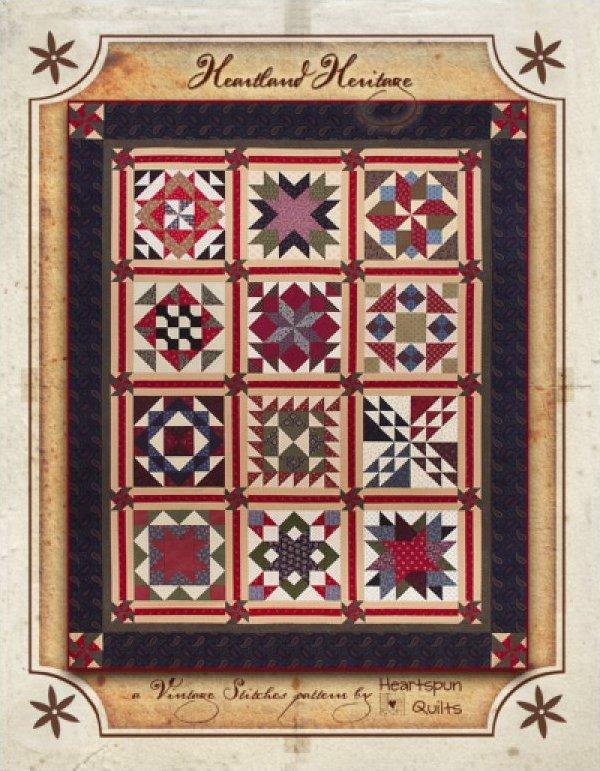 Heartland Heritage Sampler Pattern