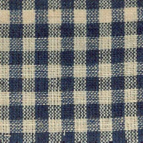 homespun navy/check