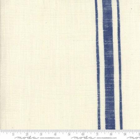 moda toweling cream blue 920 251