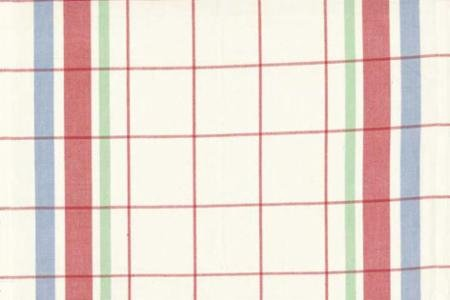 moda toweling bright plaid