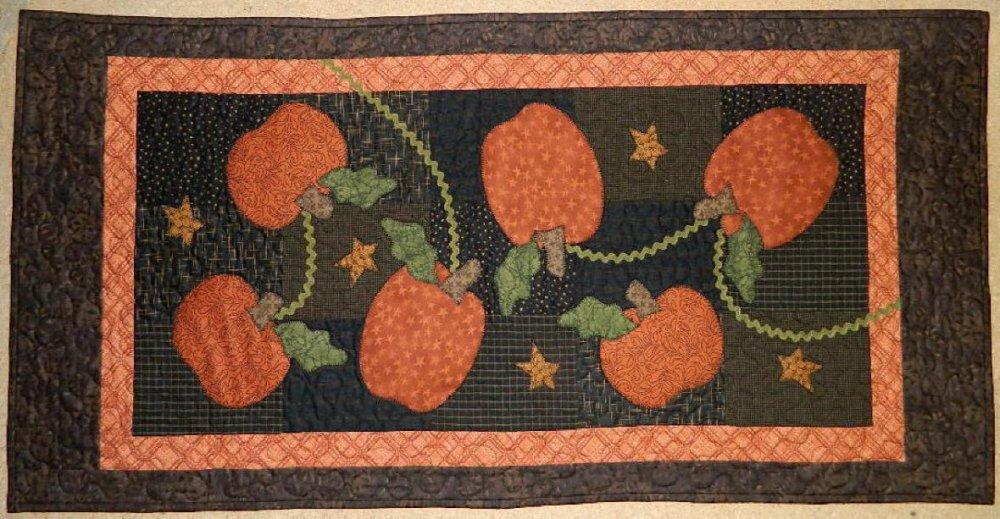 Pumpkin crop pattern