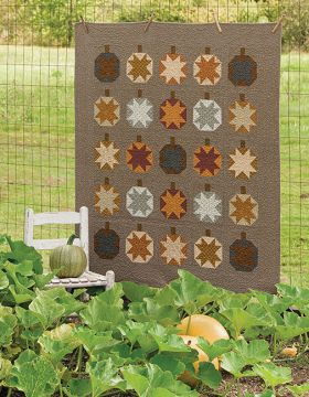 Harvest Pumpkins quilt kit