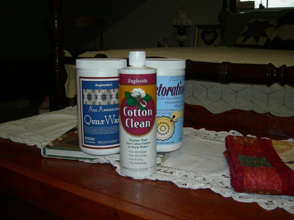 Quilt/linen care premier set