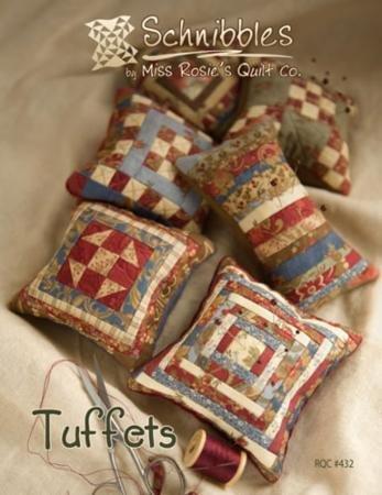 Schnibbles Tuffets pincushion pattern