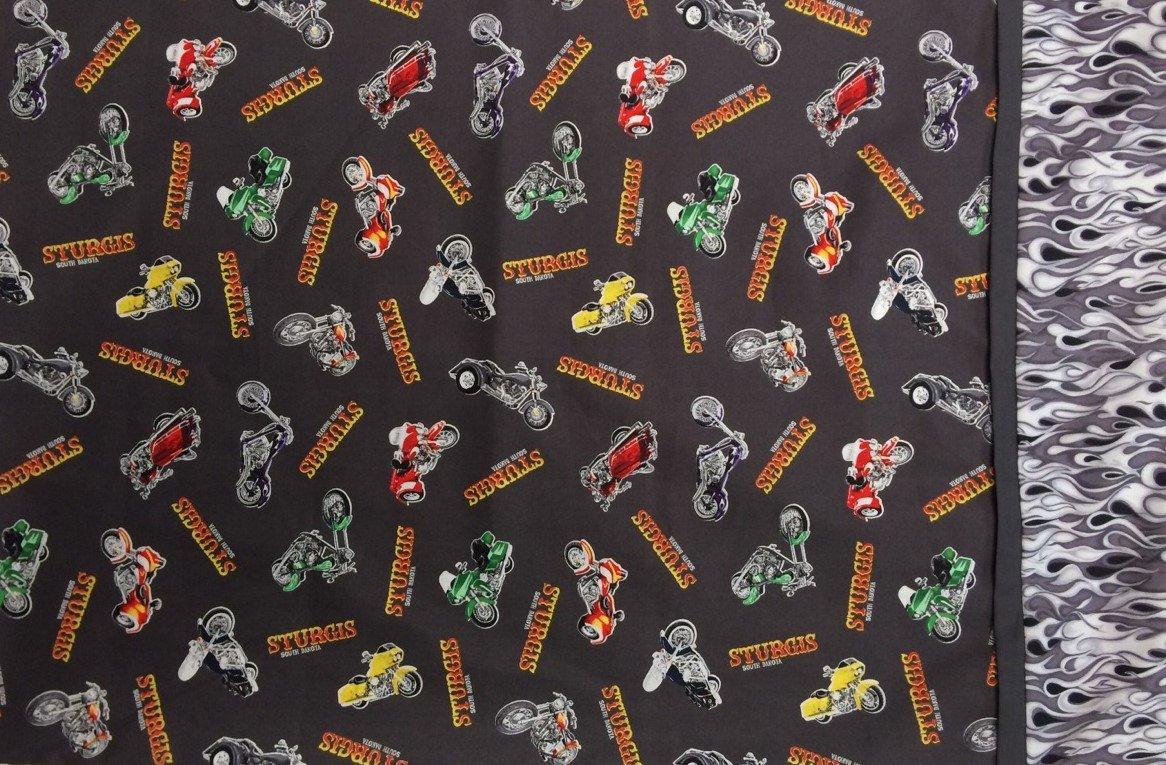 Sturgis Motorcycle Pillowcase Kit