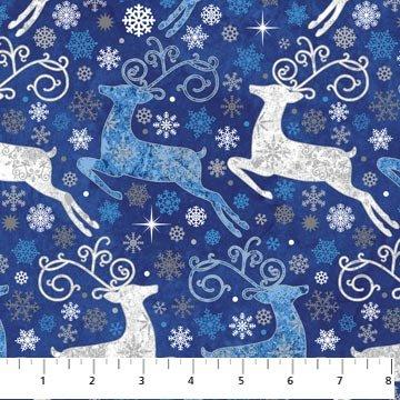 Northcott Reindeer Prance