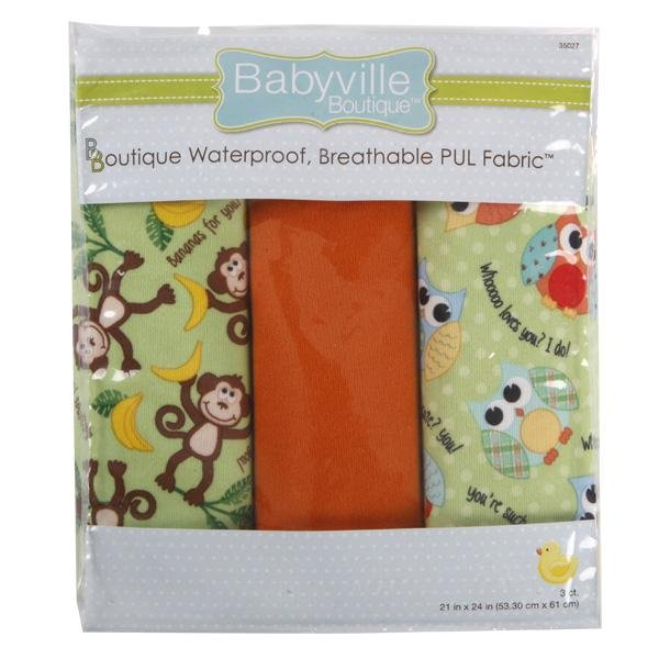 Babyville Boutique Waterproof PUL Fabric