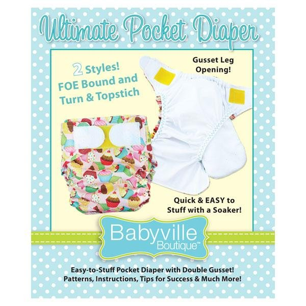 Babyville Boutique Ultimate Pocket Diaper Pattern