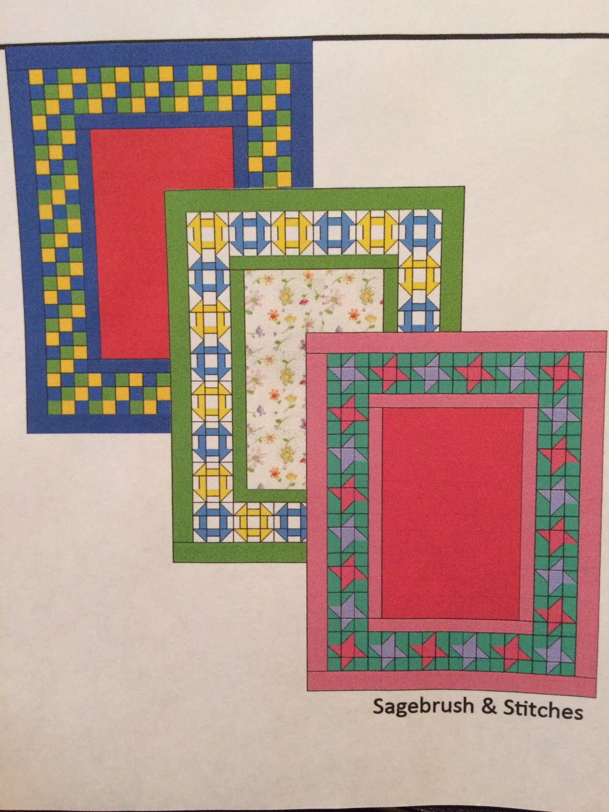 3-in-1 Baby Quilt Pattern