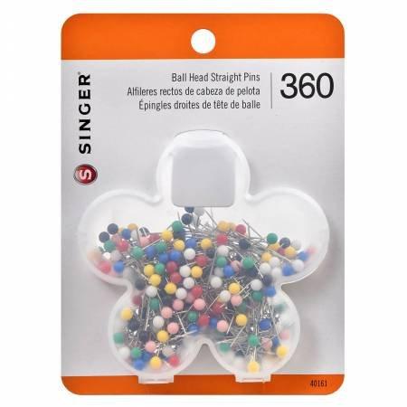360 Ball Head Straight Pins