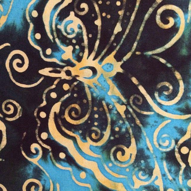 Batik by Mirah Chasing Butterfly