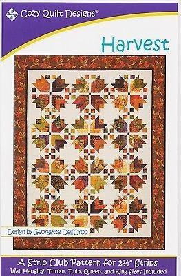 Harvest Quilt Pattern by Cozy Quilt Designs