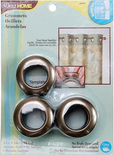 Dritz Home Curtain Grommets