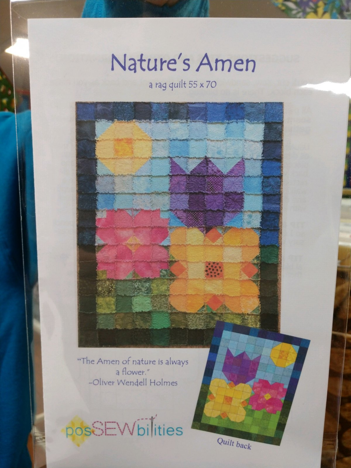 Exclusive Nature's Amen pattern