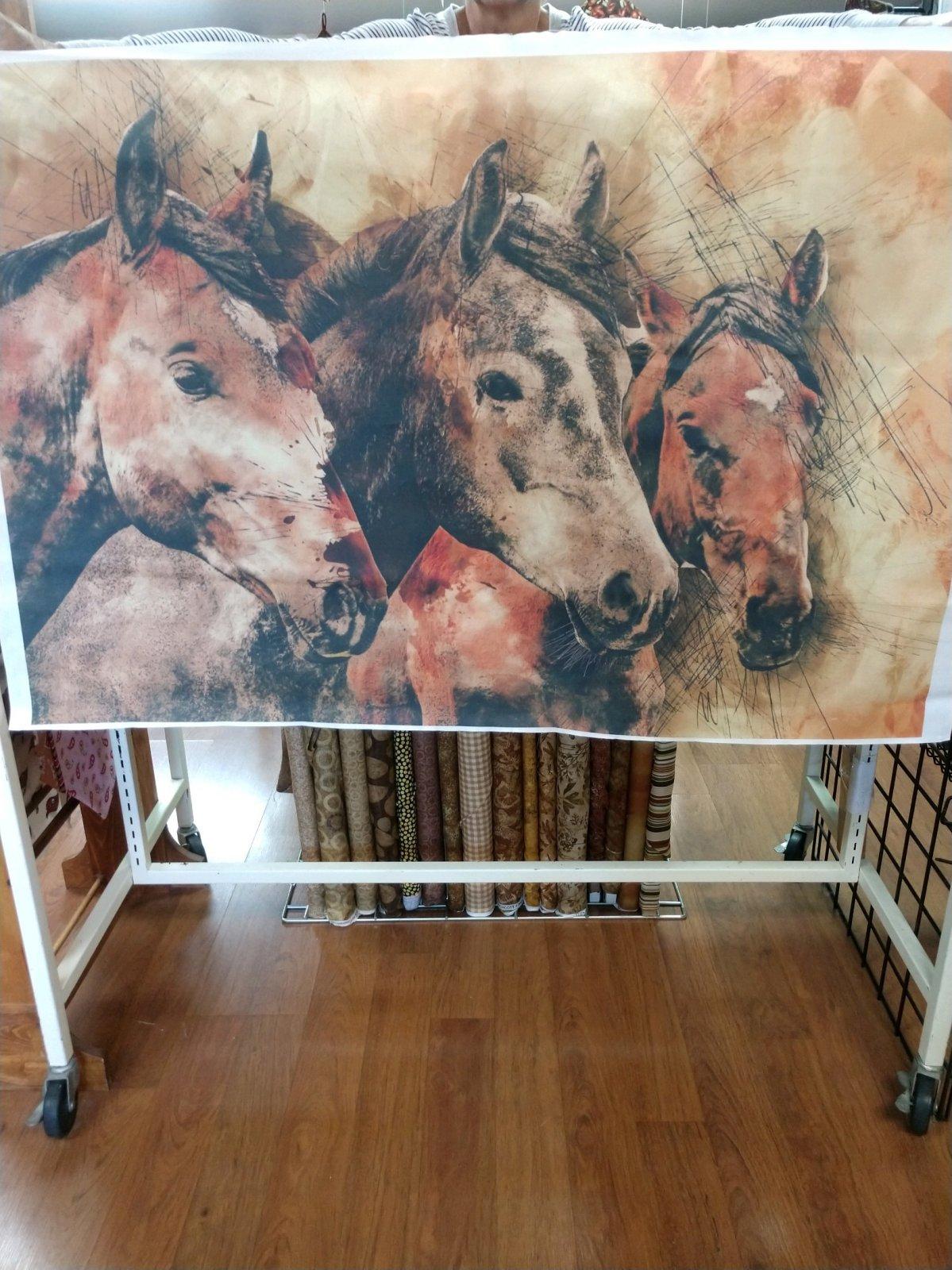 Fabric Junction Exclusive Horses/Unicorns