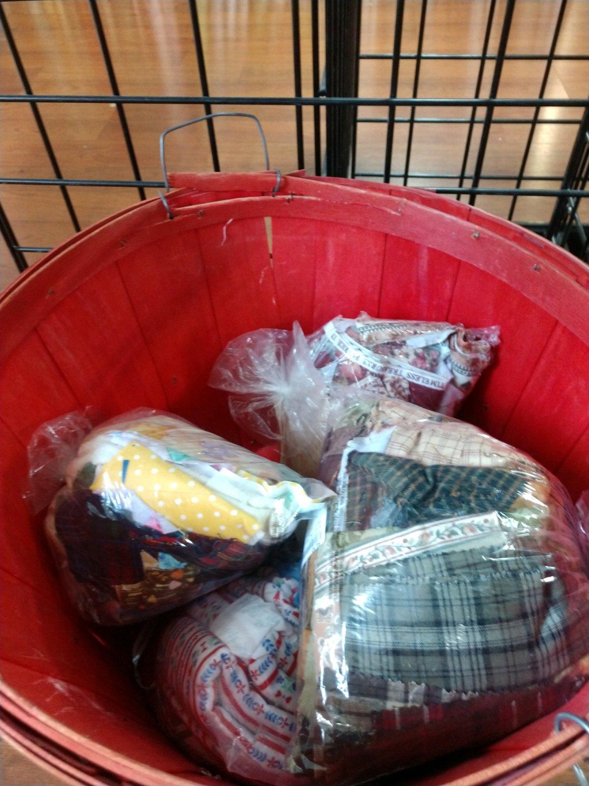 Bag of scraps 1+ lbs