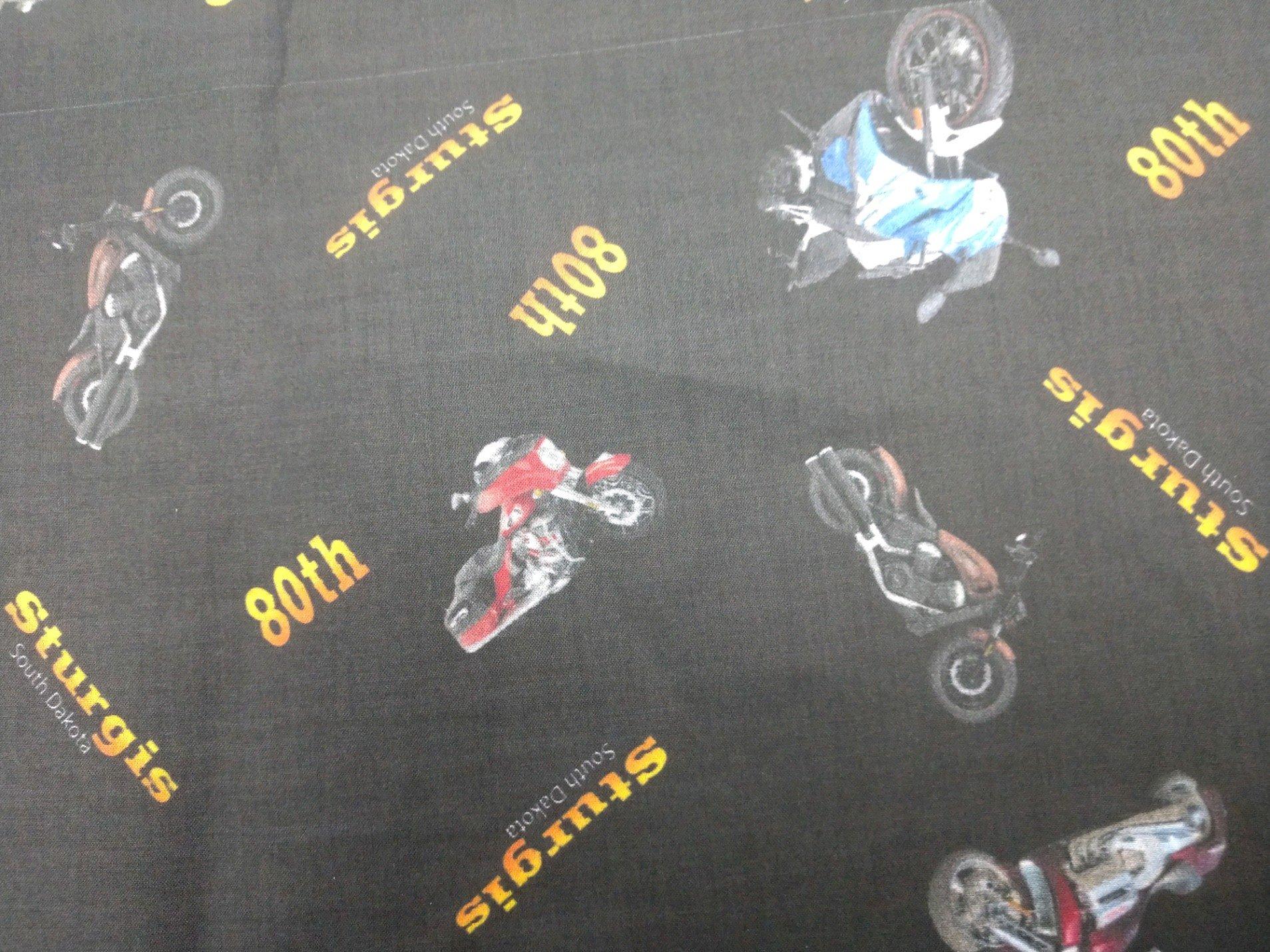 80th Sturgis Fabric
