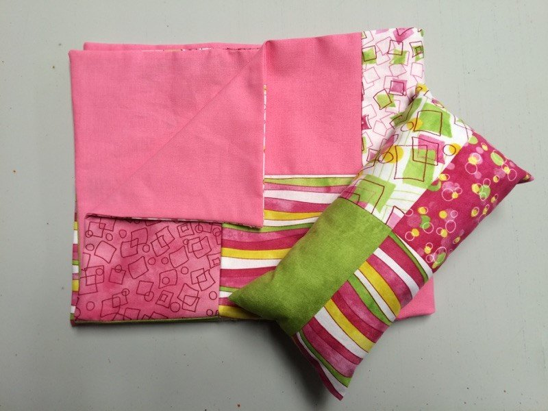 Doll Quilt and Pillow Kit