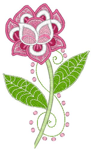 Purely Gates Embroidery Designs Software-Floral