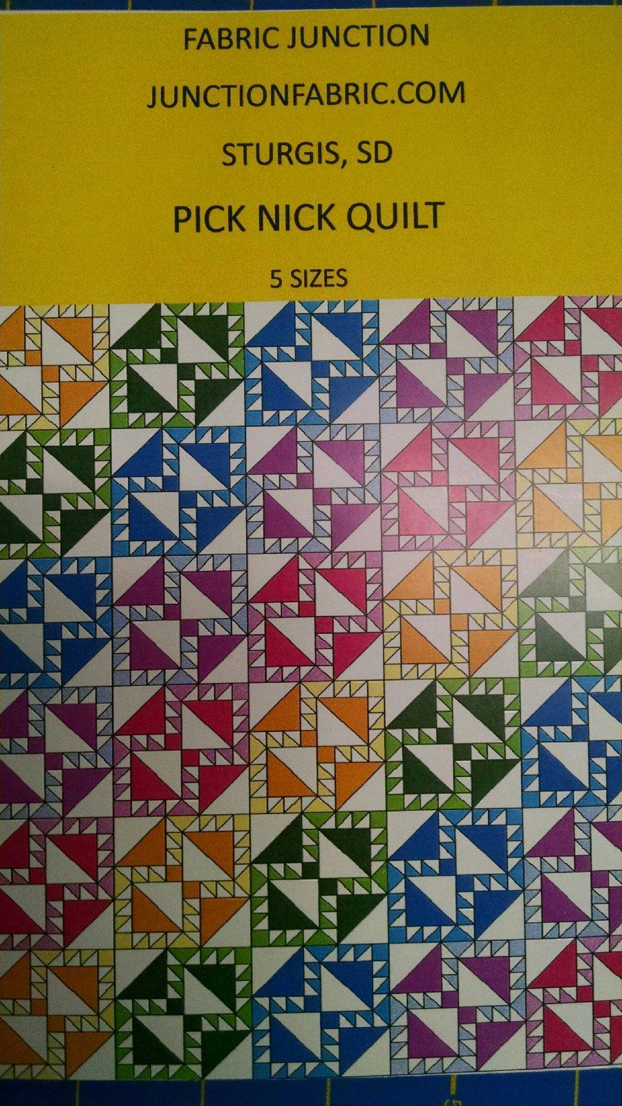 Pick Nick Quilt pattern