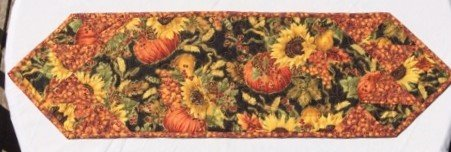 Autumn Sunflower Table Runner