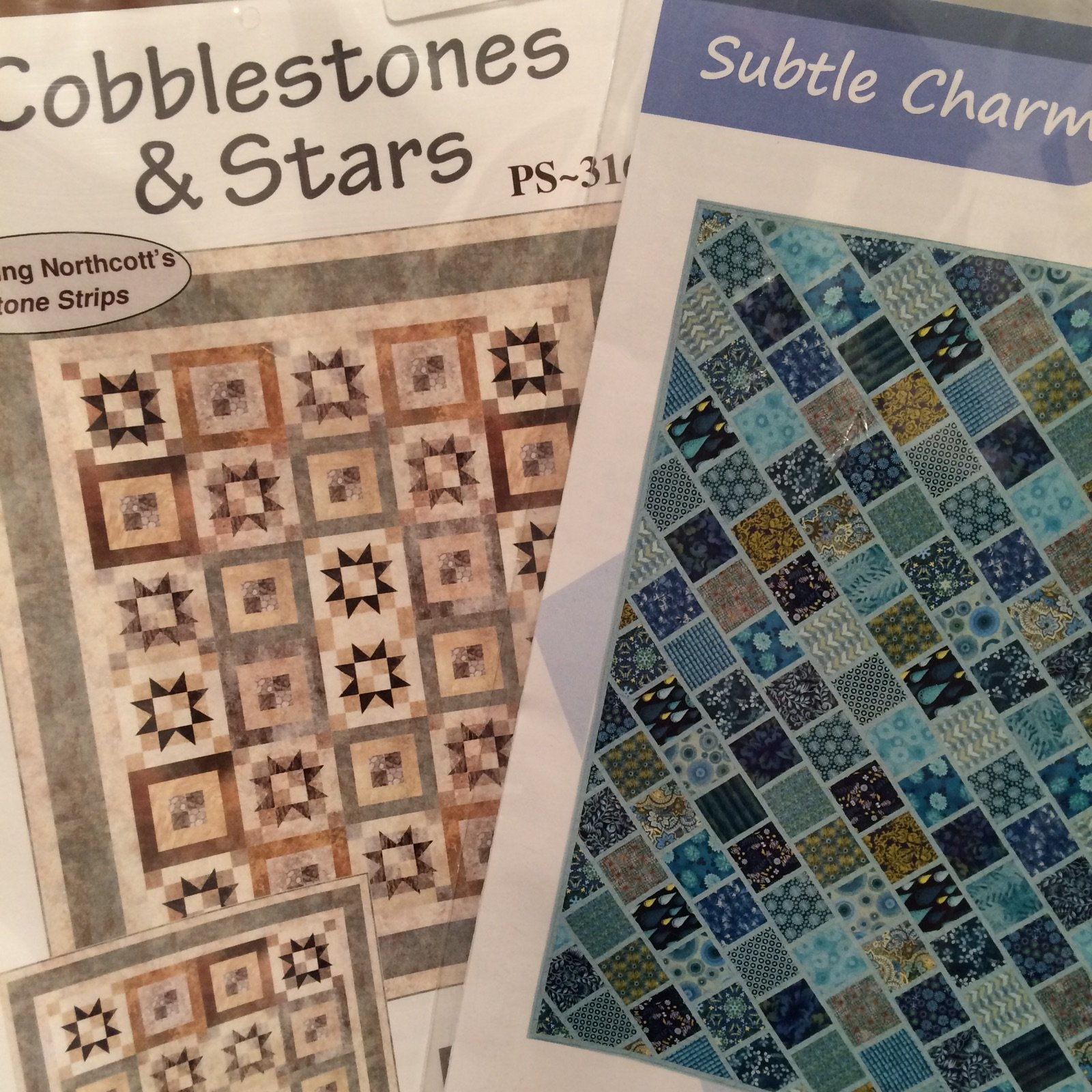 2 Pack Pattern Bundle-Subtle Charm and Cobblestones & Stars