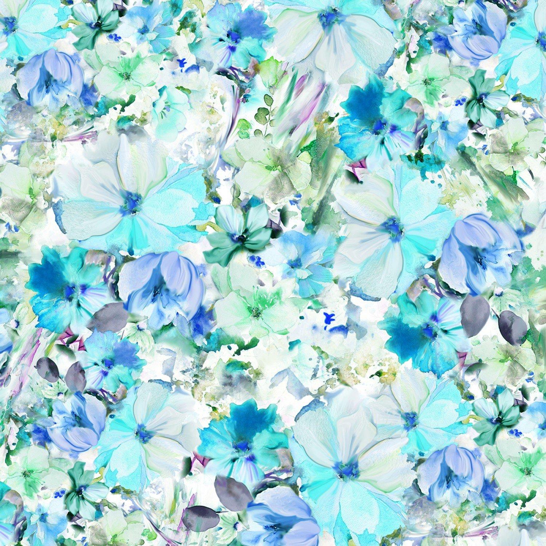 Floral Wideback - Arabesque