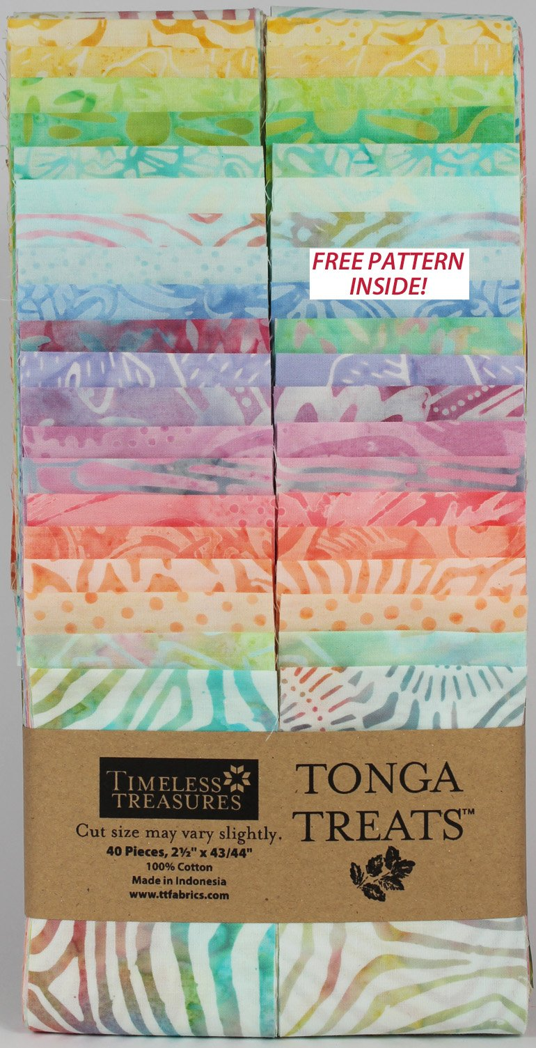 Timeless Treasures Tonga Treats 2.5 Strips