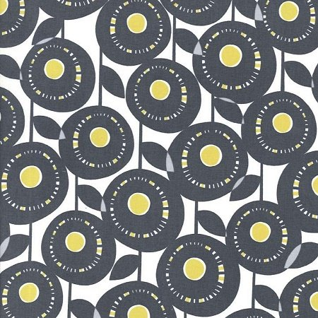 Citron Gray Flannel - Aretha in Grey by Michael Miller