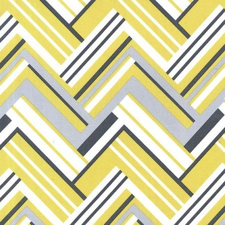 Citron Gray Flannel - Virginia in Grey by Michael Miller