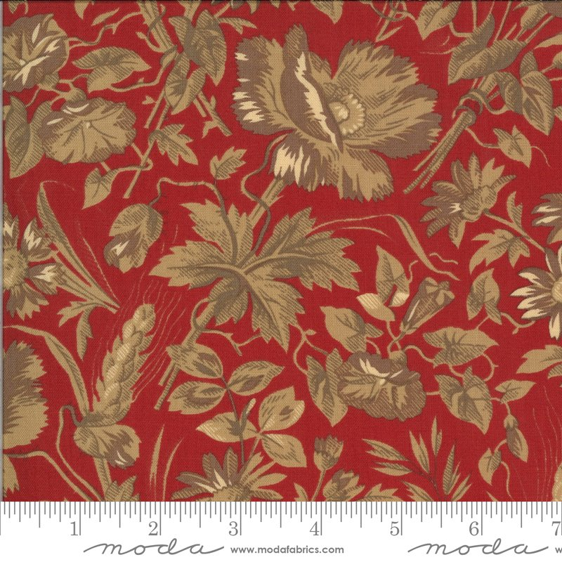 La Rose Rouge - Ghislaine in Rouge by French General for Moda