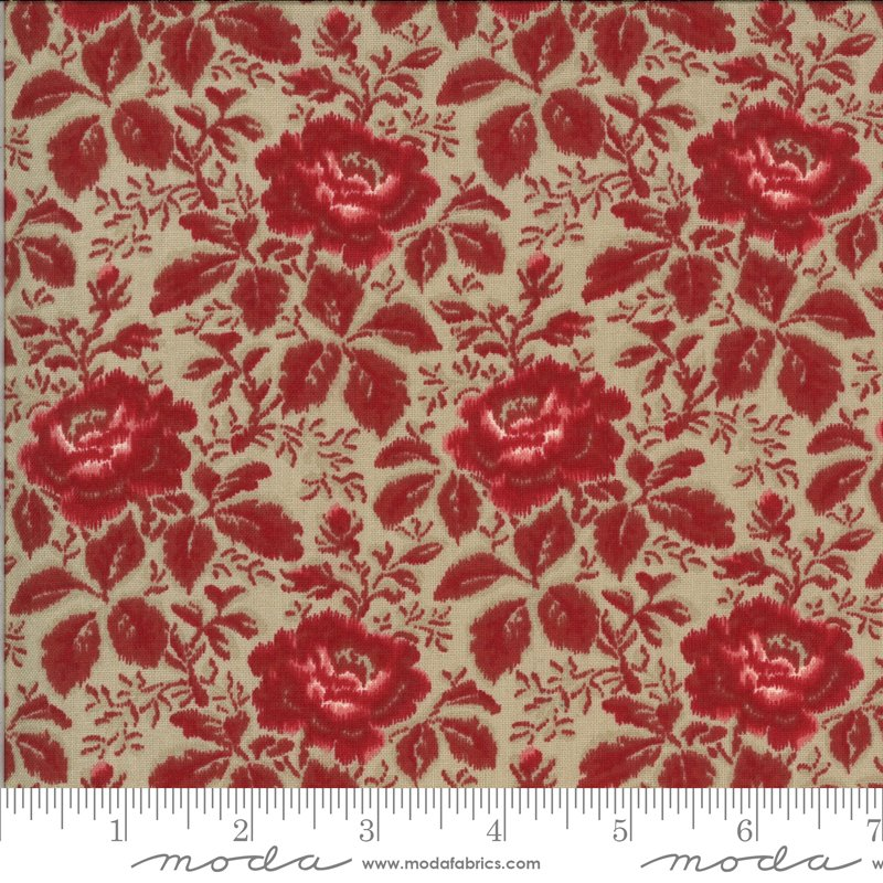La Rose Rouge - Yolande in Roche by French General for Moda