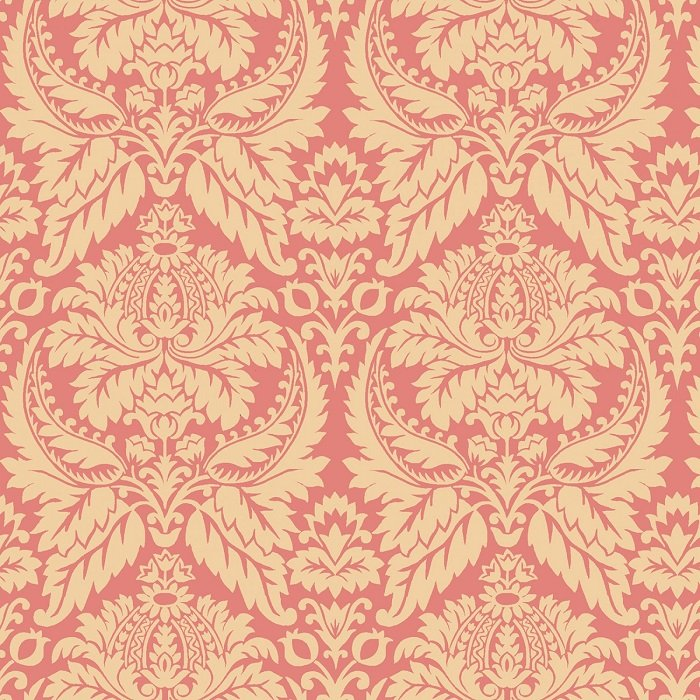 Blush and Blue - Parlor Fancies in Blush by Kim Diehl for Henry Glass