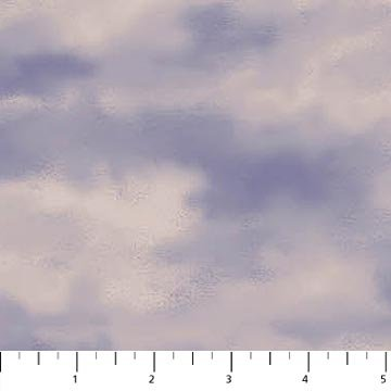 Naturescapes Collection - Sky Clouds in Grey by Northcott