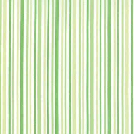 Hi De Ho - Stripe in Green by Me and My Sister for Moda