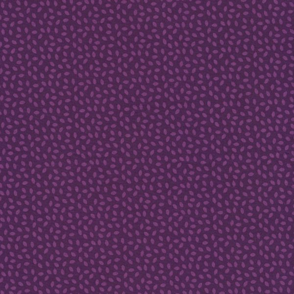 Boutique Brights - Mini Leaves in Purple by Sue Marsh for RJR Fabrics