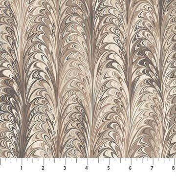The Art of Marbling - Marble 3 in Desert Sand by Heather Fletcher for Northcott